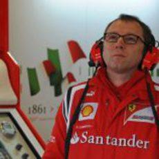 Stefano Domenicali en el GP de Australia 2011
