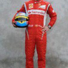 Foto oficial de Fernando Alonso para 2011