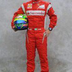 Foto oficial de Felipe Massa para 2011