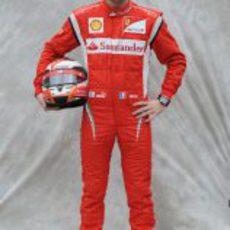 Foto oficial de Jules Bianchi para 2011