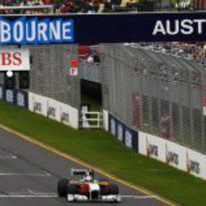Adrian Sutil en los libres del GP de Australia
