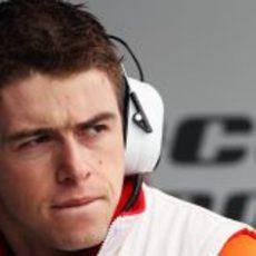 Paul di Resta nervioso ante su primer fin de semana de Gran Premio