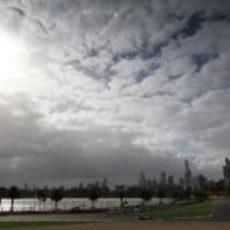 Cielo nublado en la primera jornada