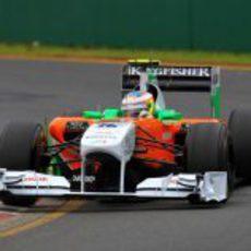 Di Resta empieza a rodar en su primer Gran Premio