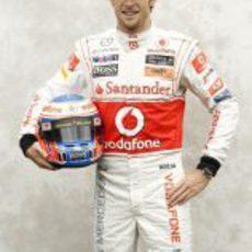 Foto oficial de Jenson Button para 2011