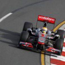 Hamilton en los libres del GP de Australia 2011