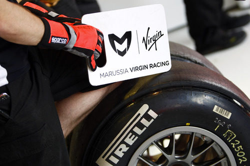 Neumáticos Pirelli en el Virgin Racing
