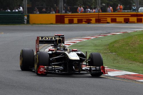 Heidfeld en la clasificación del GP de Australia 2011