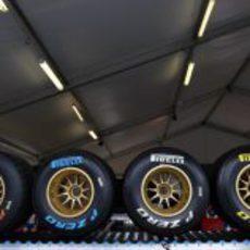 Los 4 tipos de neumáticos Pirelli para el GP de Australia 2011