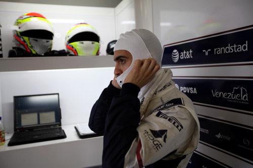 Maldonado se prepara para subirse al Williams