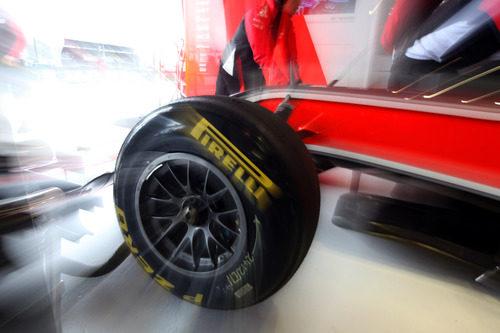 Neumáticos blandos para el Virgin