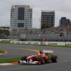 Felipe Massa en la clasificación del GP de Australia 2011