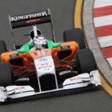 Adrian Sutil busca meterse en la Q3