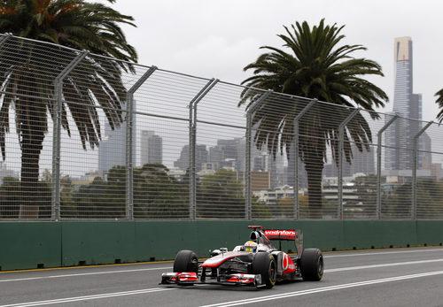 Hamilton logra el segundo mejor tiempo en la clasificación