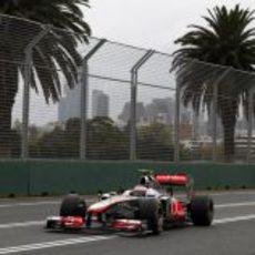Button marcó el cuarto mejor crono