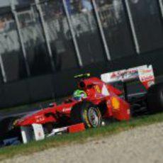 Felipe Massa en la carrera del GP de Australia 2011