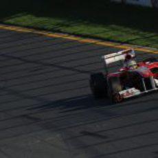 Fernando Alonso en busca del podio