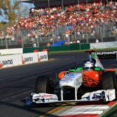 Adrian Sutil acabó fuera de los puntos
