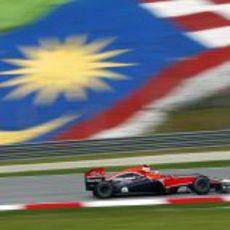 D'Ambrosio rueda en Malasia