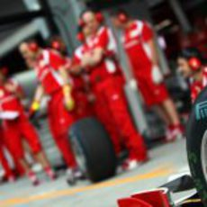 Compuestos intermedios en Ferrari