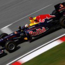 Vettel mejoró su ritmo en la práctica 2