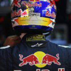 El nuevo casco de Vettel