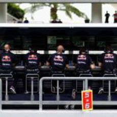 El muro de Red Bull en Malasia