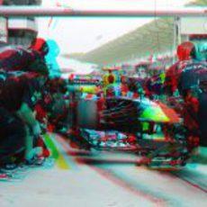 Parada de Red Bull en 3D
