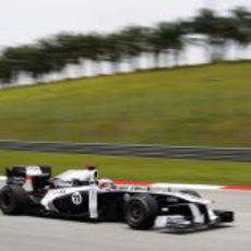 Rubens Barrichello clasifica en decimoquinto lugar