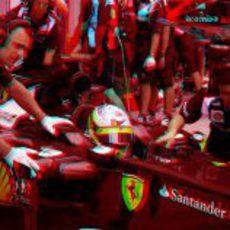 Fernando Alonso en 3D