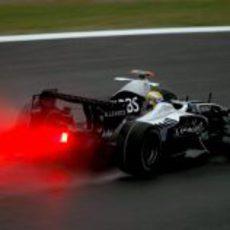Rosberg entrenando