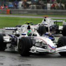 Kubica se defiende de Heidfeld