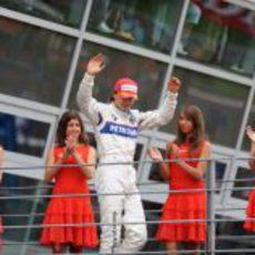 Kubica acaba tercero