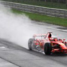 Raikkonen en Monza