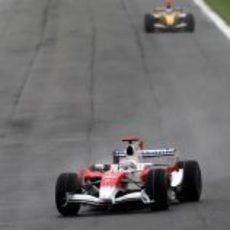 Trulli en el GP de Italia