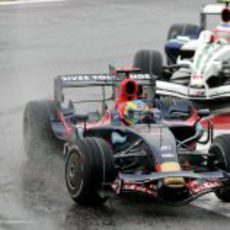 Bourdais pugna con Barrichello