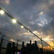 El cielo de Singapur