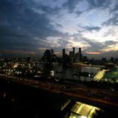 El circuito nocturno de Singapur