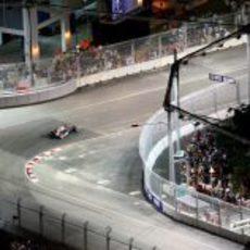 Coulthard en Singapur