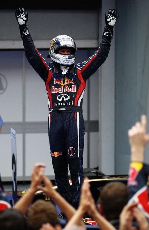 Vettel se alza ganador del GP de Malasia 2011