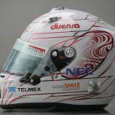 Un nuevo casco para Kobayashi