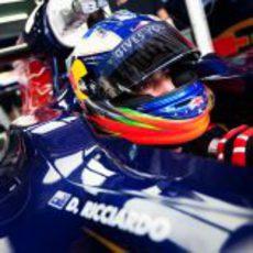 Ricciardo listo para la FP1