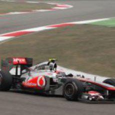 Button en los libres del GP de China 2011