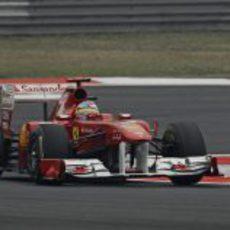 Alonso en el 150º Italia en el GP de China 2011