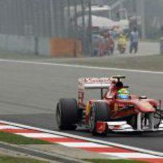 Massa en los entrenamientos del GP de China 2011
