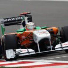 Hülkenberg ocupó el sitio de Sutil en los libres 1 del GP de China 2011