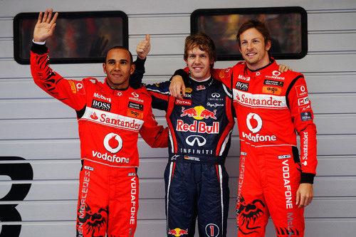'Pole' para Vettel, Button 2º y Hamilton 3º en la clasificación del GP de China 2011