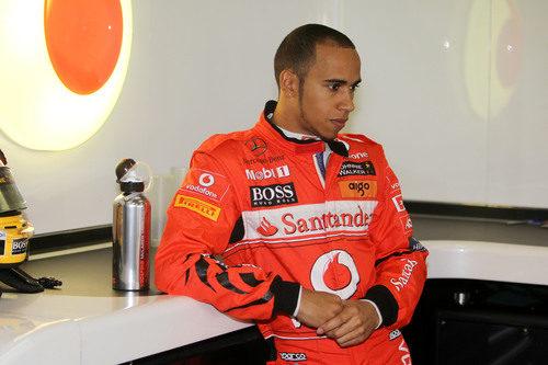 Lewis Hamilton piloto de ¿Ferrari? en China 2011