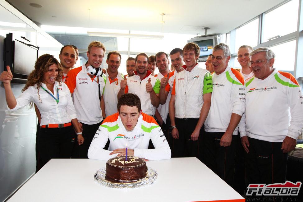 ¡¡Feliz cumpleaños Di Resta!!