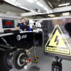 Peligro en el box de Williams